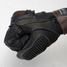Мотоперчатки Komine GK-217 CE protect Leather Gloves