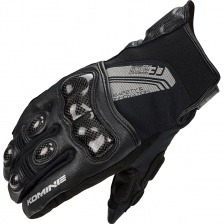 Мотоперчатки Komine GK-824 CE Carbon Protect Short W-Gloves