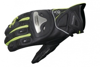 Мотоперчатки Komine GK-170 Titanium Sports Gloves